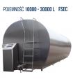 Schładzalniki do mleka CYSTERNA seria FSEC 10000L - 30000L  PRO-INOX