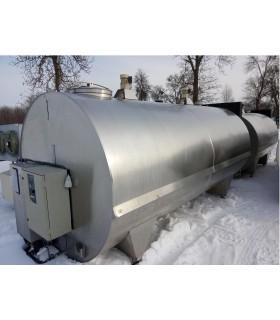 Schładzalnik do mleka 8000 L JAPY KRYOS CFSTE