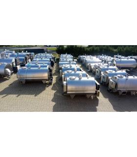 Używane schładzalniki mleka z gwarancją z dostawą i montażem.