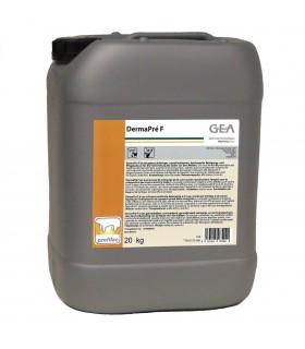 DermaPre F - pianowy środek do mycia wymion 20kg GEA