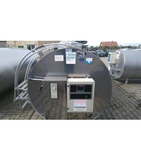 Schładzalnik do mleka 4200 litrów JAPY Kryos