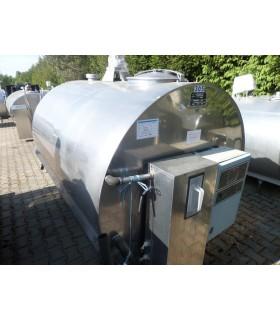 Schładzalnik cysterna 3100 L JAPY KRYOS - używany