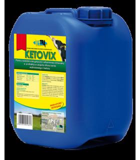 Vittra Ketovix 6kg - profilaktyce zespołu stłuszczenia wątrobowego i ketozy dla krów mlecznych