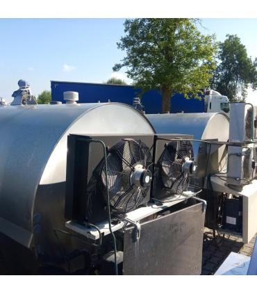 Schładzalniki na mleko 6075 litrów JAPY Kryos