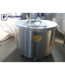 Schładzalniki do mleka OKRĄGŁE 400 - 600 L - używane