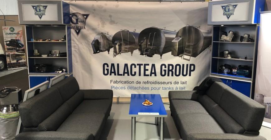 Grupa GALACTEA na targach SOMMET DE LELEVAGE 2019