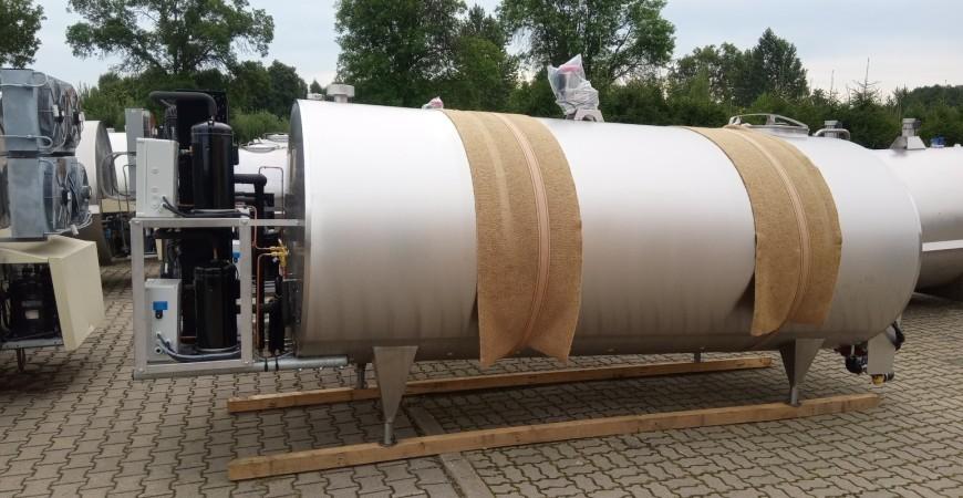 Schładzalnik mleka cysterna chłodnia samomyjąca FE 6000 litrów PRO-INOX